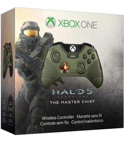 xbox one edición limitada halo : controlador inalámbri...