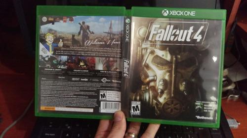 xbox one fallout 4 + fallout 3 vendo cambio