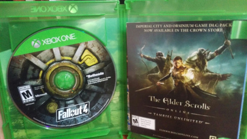 xbox one fallout 4 vendo cambio