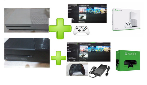 xbox one fat 1 tb o s 500,oferta temporal leer descripcion
