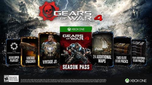 xbox one gears war