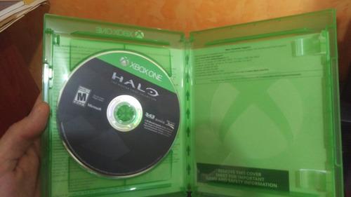 xbox one halo master chief vendo cambio