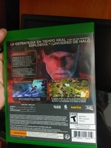 xbox one halo wars 2 vendo cambio