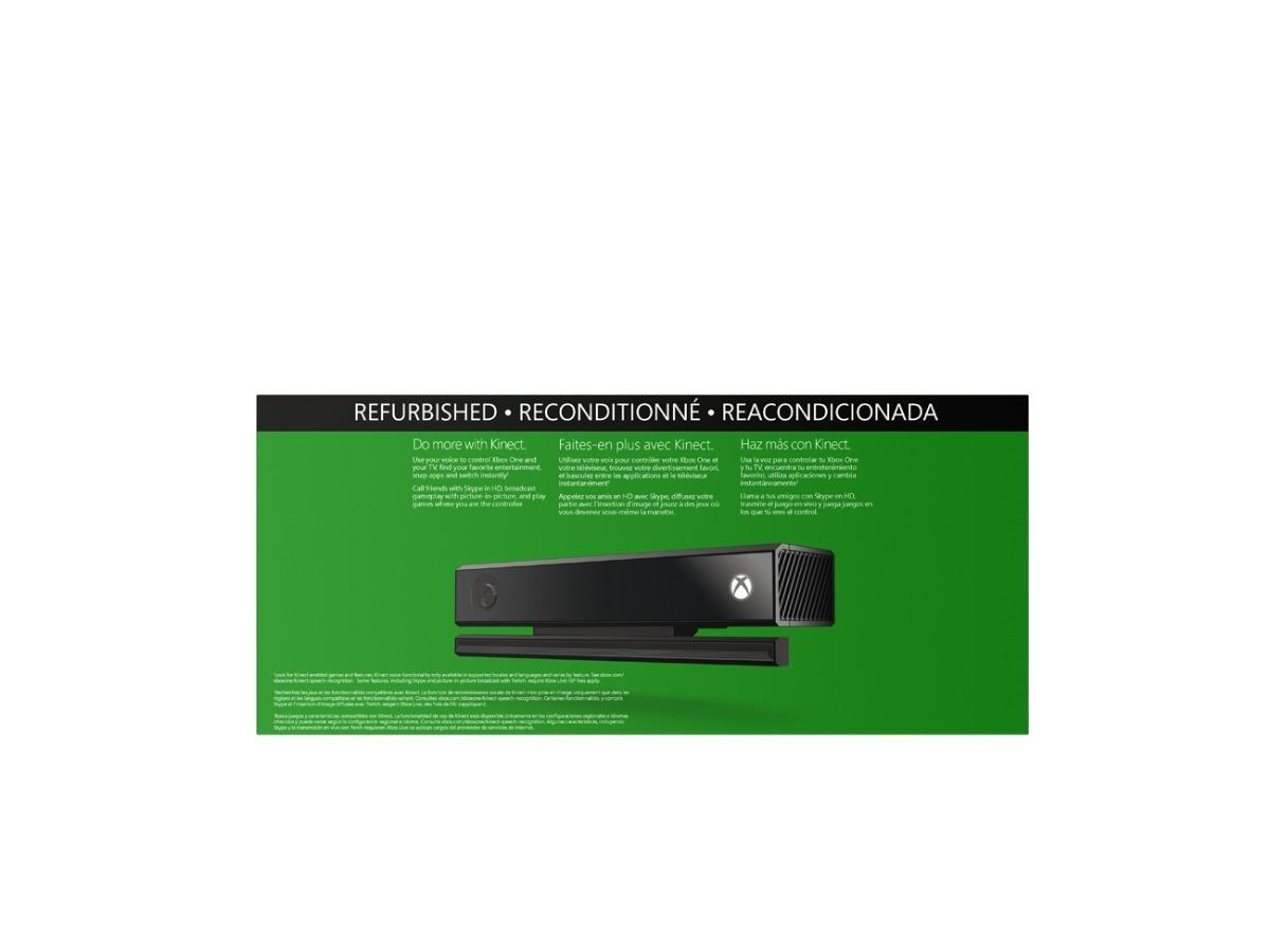 Sensor Kinect Xbox One Reconstruido Refurbished Sin Juego