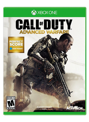 xbox one juego cod advanced warfare xbox one - envío gratis