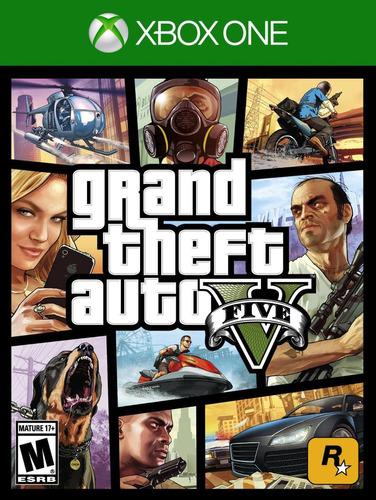 xbox one juego gta v grand theft auto fisico nany41 español