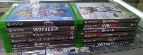 xbox one, juegos
