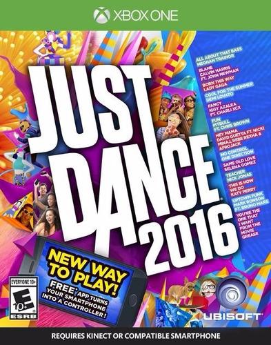 xbox one just dance 2016 fisico nuevo abierto enviogratis