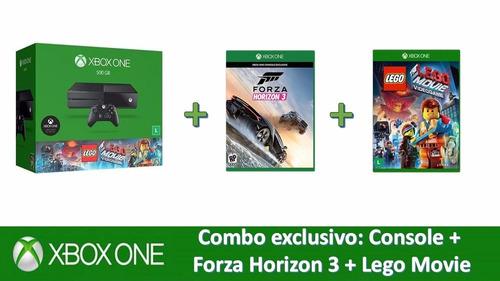 xbox one lego movie + forza horizon 3