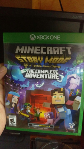 xbox one minecraft story mode vendo cambio