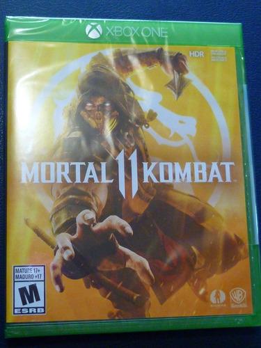 xbox one mortal kombat 11 mk11 nuevo