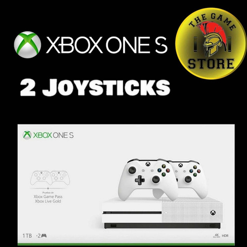 xbox one s 1tb 2 joystick - the game store