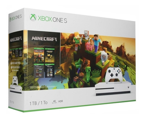 xbox one s 1tb 4k hdr 1 control minecraft nueva gold  /u