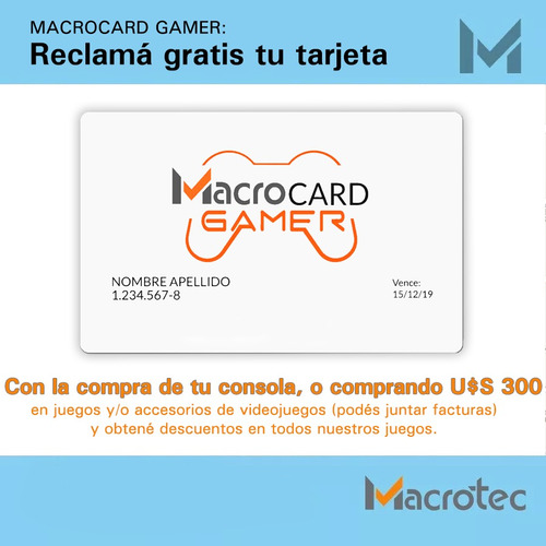 xbox one s 1tb nuevas con garantía, macrotec