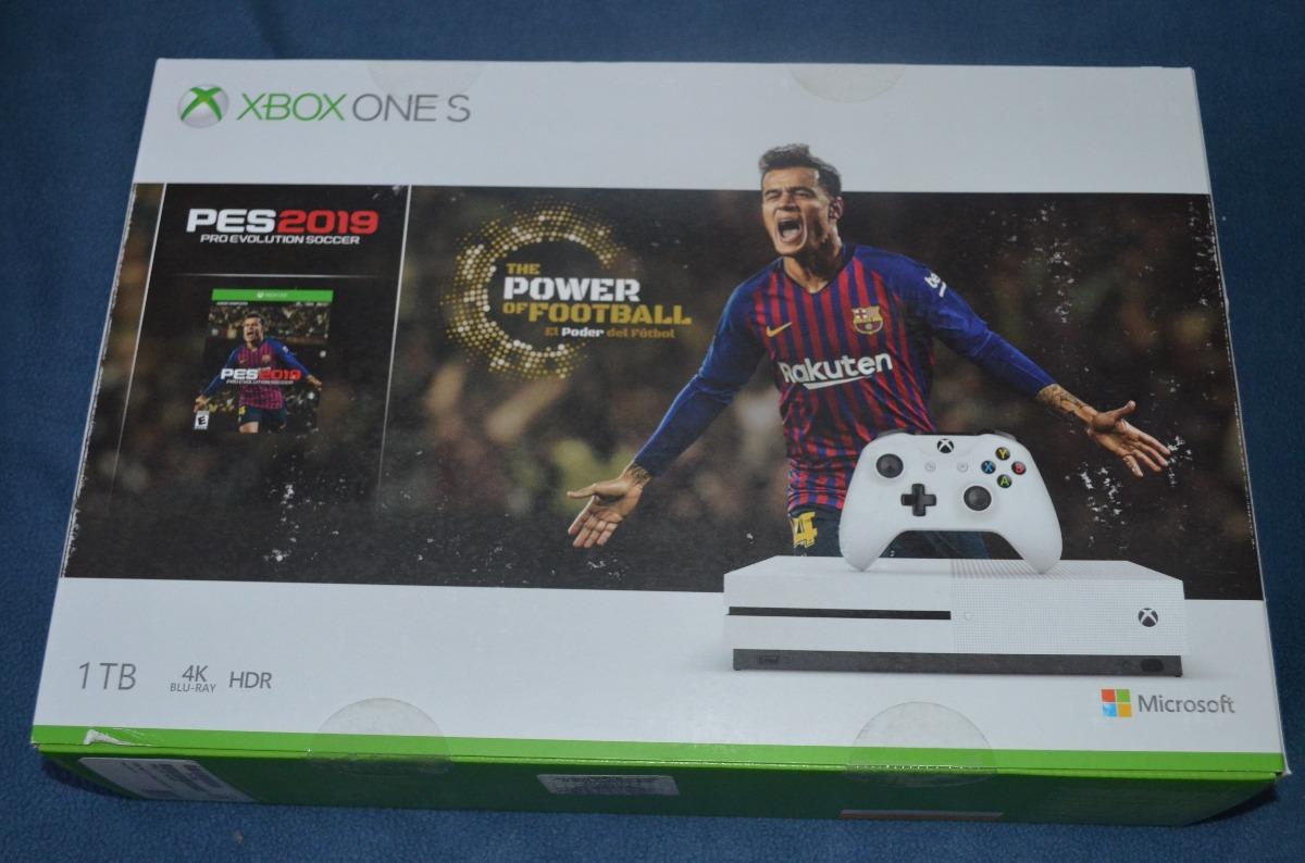 Xbox One S 1tb Pes 2019 4 Juegos Regalo Livegold Gamepass