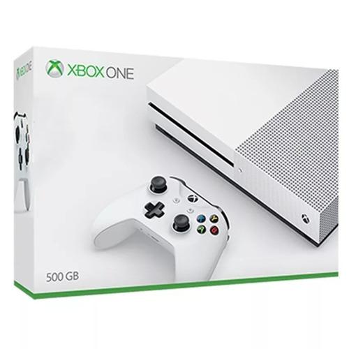 xbox one s 500gb nf garantia, microsoft