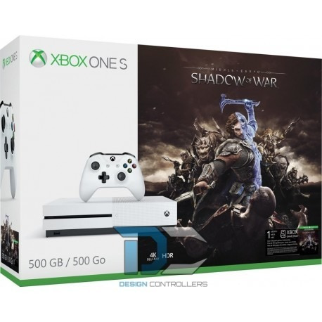xbox one s 500gb shadow of war 1 mes game pass selladas msi