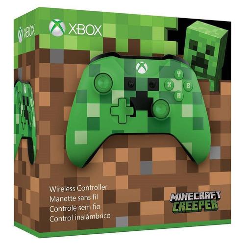 xbox one s control minecraf  edicion especial + 2 pilas aa