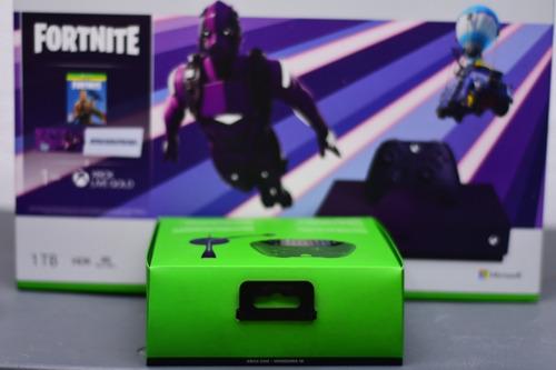 Xbox One S Fornite Morada Edici 243 N Especial 1tb Chatpad