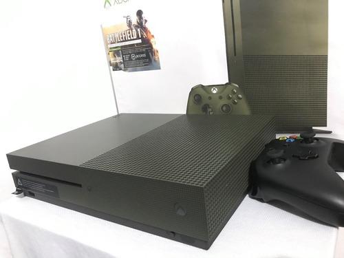 xbox one s  verde 1tb + halo 5