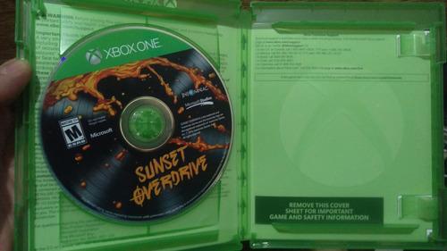 xbox one sunset overdrive vendo cambio