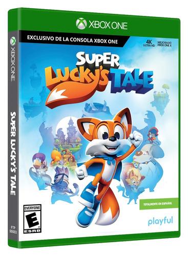 xbox one super lucky's tale nuevo y sellado en español