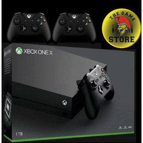 Xbox One X 1 Tb 4k + 2 Joystick - The Game Store