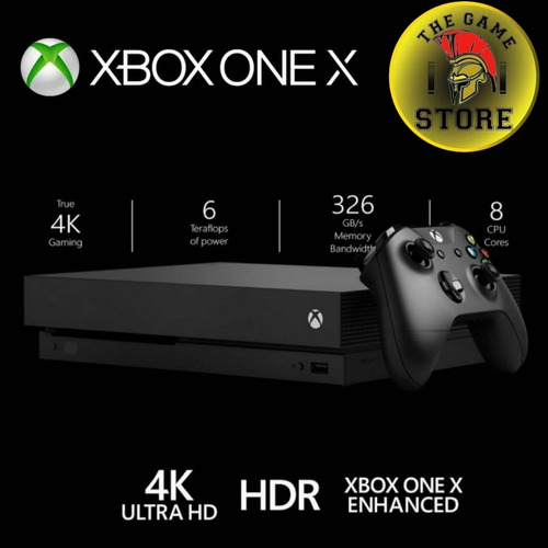 xbox one x 1 tb 4k hdr - the game store