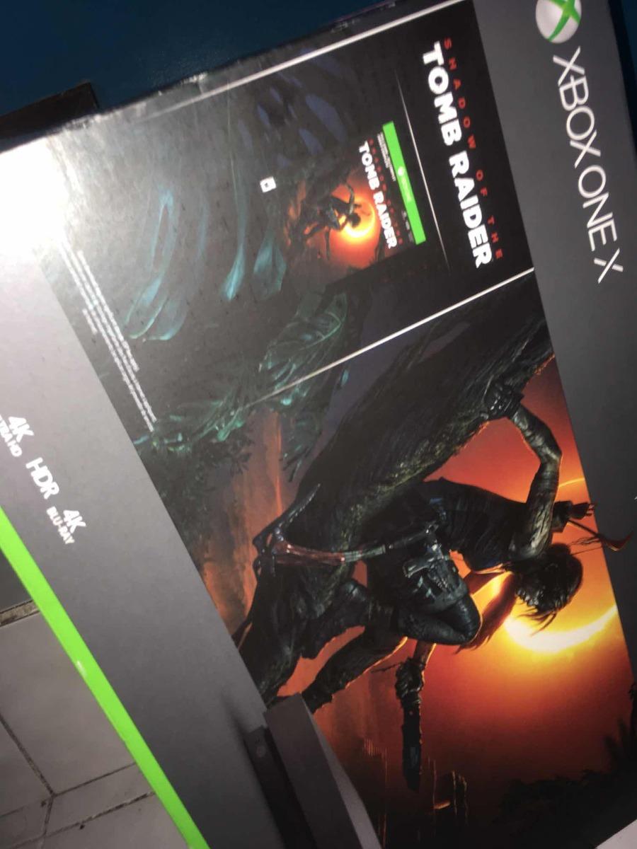 Xbox One X 1 Tb Con Juego Nuevo Y Sellado Msi Envio Gratis