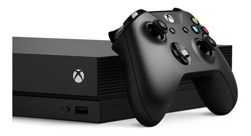 xbox one x 1tb console with wireless controller: xbox one x