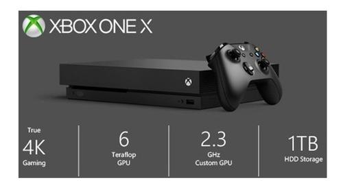 xbox one x 1tb + gtav + financiamiento +  somos tienda