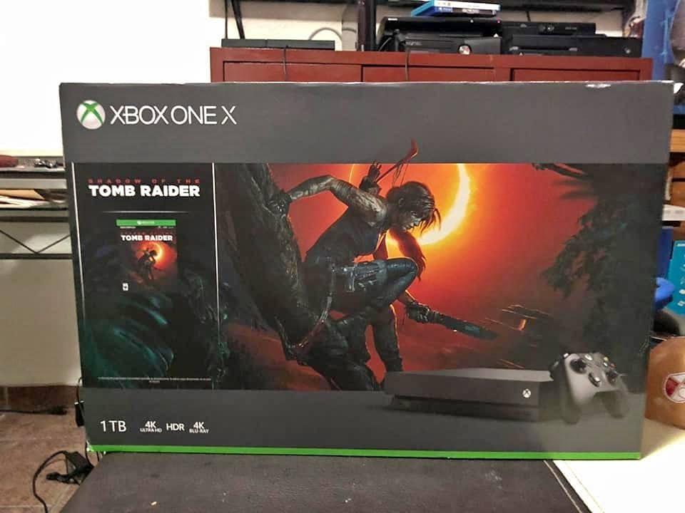Xbox One X 1tb Incluye 10 Juegos Nuevos 500 00 En Mercado Libre