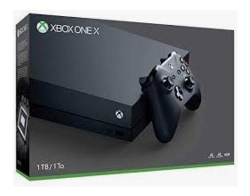 xbox one x 1tb negro