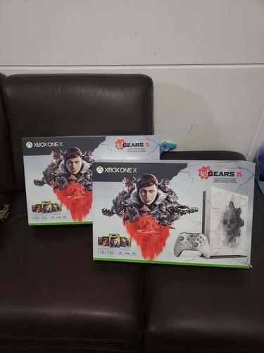 xbox one x gears 5 1tb edición limitada entrega inmediata