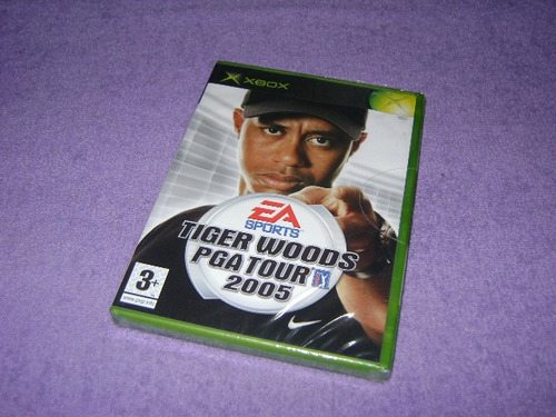 xbox - tiger woods pga tour 2005 (europeu)