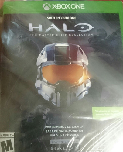 xbox1 halo the master chief collection nuevo y envio gratis