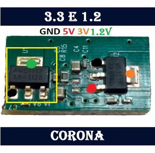 xbox360 regulador de 3.3v para corona