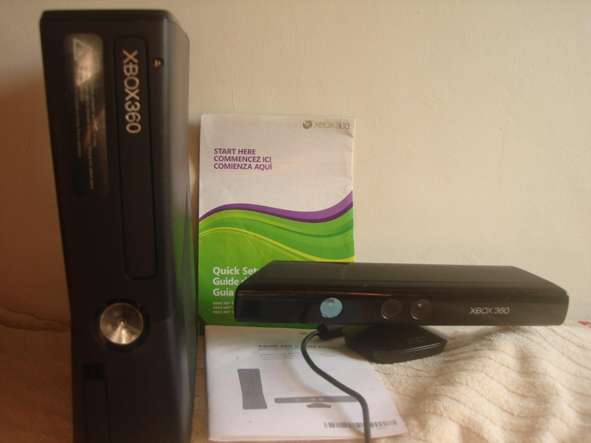 Xbox360 Slim Kinet + Rgh 2 Controles - Bs  220 000,00