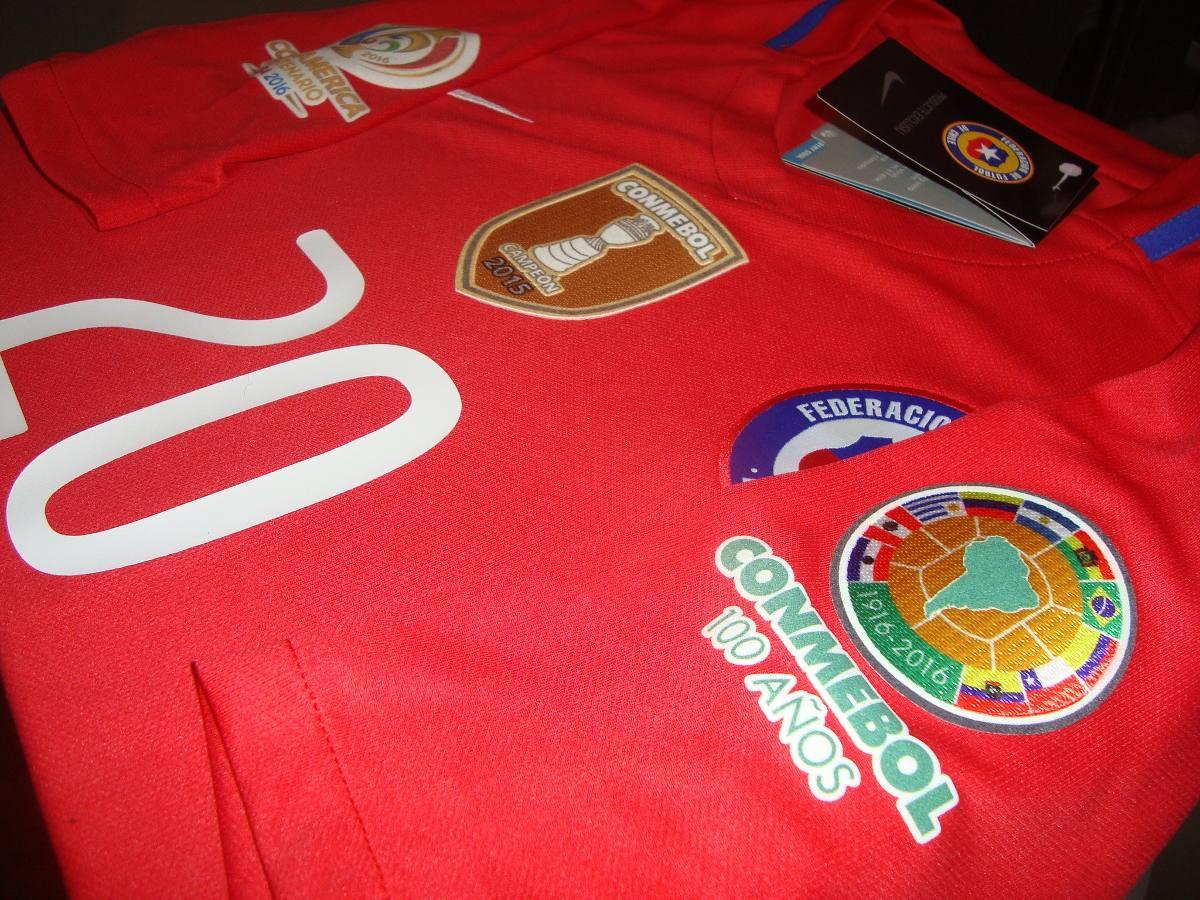 xclusiva camiseta nike chile la roja copa america centenario. Cargando zoom. 98bcd0de6c0b3