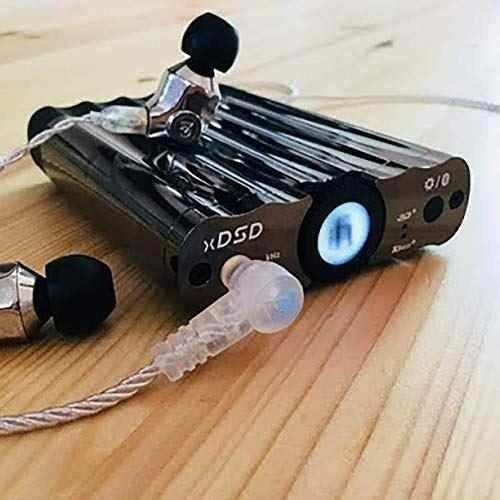xdsd bluetooth dac y amplificador de auriculares con mqa por