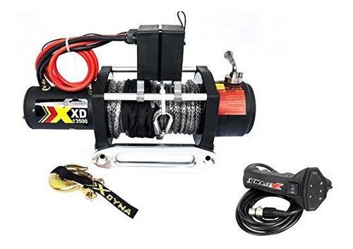 xdyna 13500lbs de velocidad unica cuerda sinteticas winche