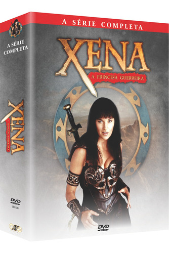 xena - a princesa guerreira - a série completa box original