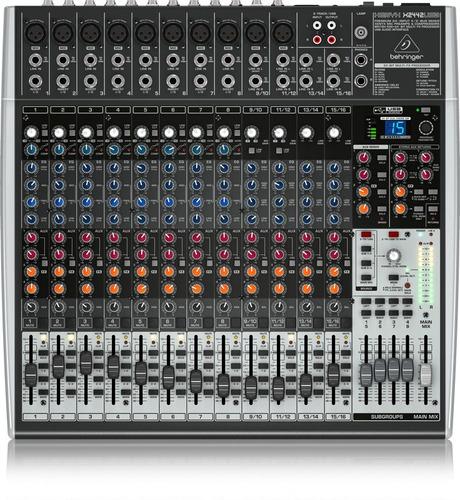xenyx x2442usb mezcladora 24 entradas behringer a msi