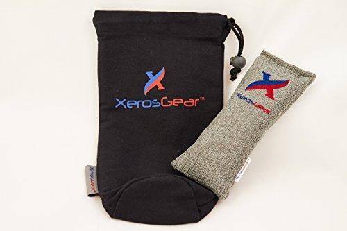 xeros gear anti-bacterial desodorizante shin guard bolsa... ... 7edaaff06ac3d