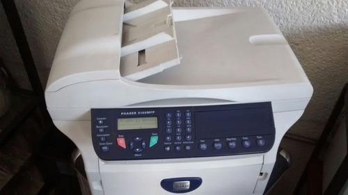 xerox 3100mfp refacciones c/toner,imprime negro atora papel.