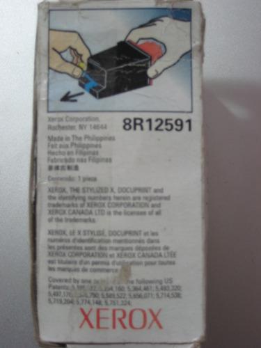 xerox 8r12591 cartridge sellado tinta