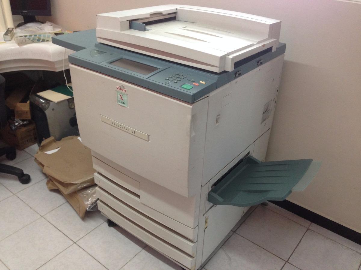 XEROX Printer DocuColor 12 Printer Drivers for PC
