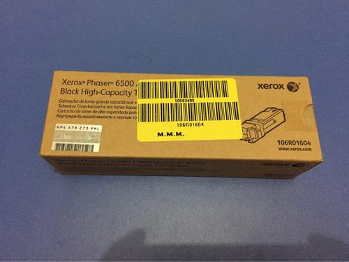xerox toner  wc6505 toner negro high cap 106r1604