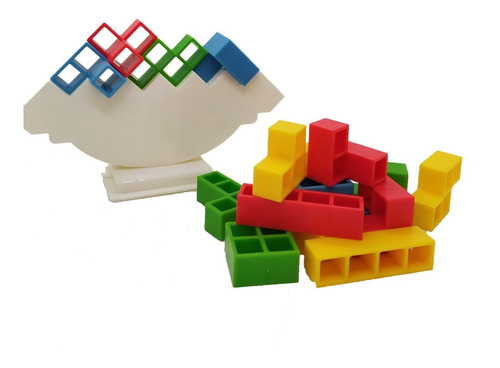 xetryx juego de ingenio tetris balance ik0002 educando
