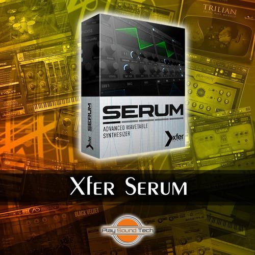 xfer serum | vst au | win & mac | licencia